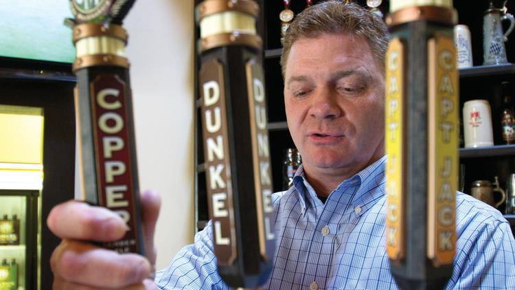 Olde Mecklenburg Brewery has started brewing test batches of its signature beers at its new  between Charlotte's South Tryon Street and Yancey Road. John Marrino founded Olde Mecklenburg in 2009.   located between Charlotte's South Tryon Street and Yancey Road.