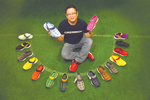 Tilting at Nike, startup specializes in colorful kicks