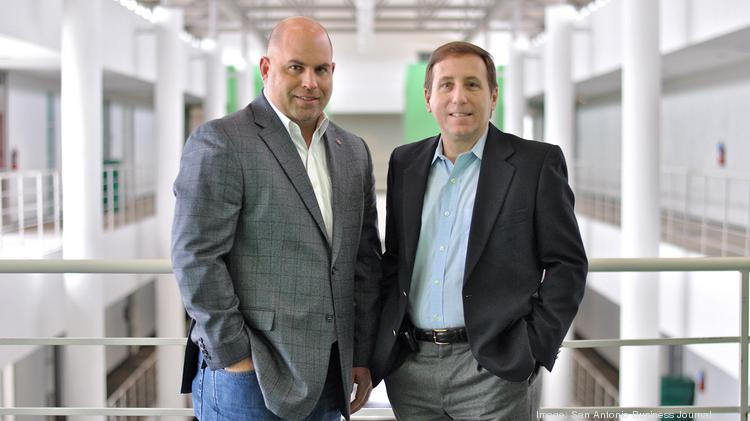 (L to R) Tech entrepreneurs Brad Morrison and Joe Krull want to help fellow veterans with cybersecurity expertise to apply their skills in the private sector.