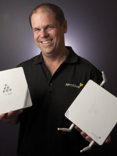 Aerohive, led by CEO David Flynn, hopes to raise up to $95 million in an IPO.