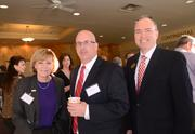 Polly Anderson and John Brady of WUCF join Donald Hale of the University of Central Florida.