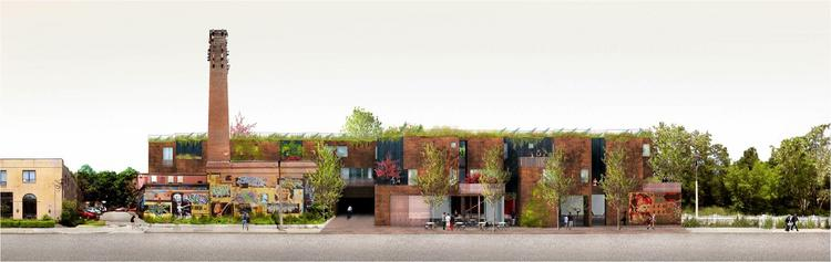 Sebastian Marsical Studio has won approval for the city's first energy positive apartment community.