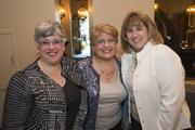Phoenix Business Journal Editor-in-Chief Ilana Lowery, right, celebrated a birthday Thursday and her two sisters came from out of town to surprise her and celebrate.