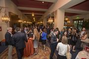 Close to 400 people were in attendance at the dinner event.