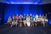 This year's Dynamic Women in Business are honored onstage.