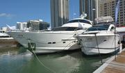 Two Horizon boats – an 88-footer and a 56-footer.