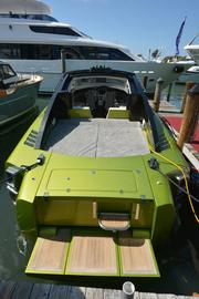 The stern of a Revolver boat.