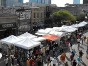 The Pecan Street Festival down on Sixth Street is the fifth most popular event in the Austin area, attracting 250,000 people in 2013.