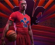 Portland Trail Blazer Damian Lillard will make his first appearance in an NBA All-Star Game on Sunday. Lilliard has an endorsement deal with Adidas.