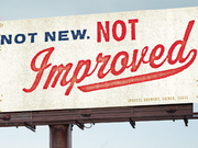 This bilboard for Shiner Bock beer was one of the winners at the 2014 Austin Addy Awards.