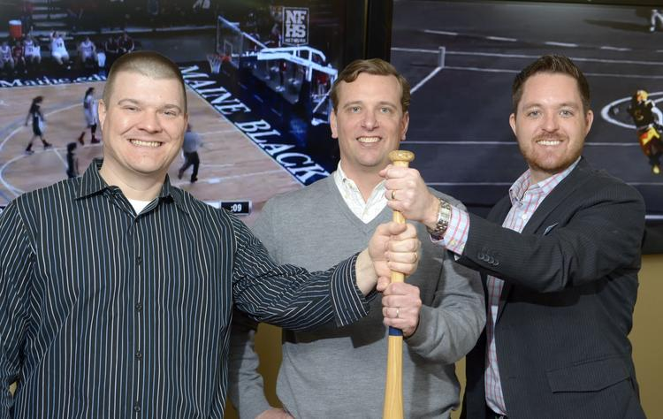 Digital Scout CEO Nathan Heerdt, left, and VP Dan Fronczak, right, are joining PlayOn Sports CEO David Rudolph's efforts to build a nationwide source for high school sports videos, highlights and statistics.