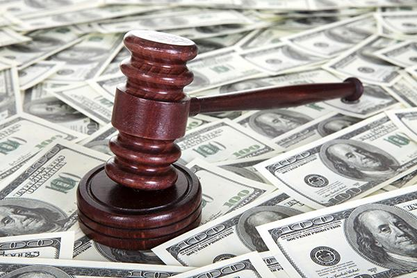 $10 million was embezzled over nearly three and a half years.