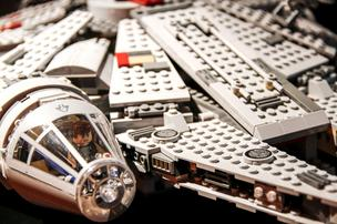 Toy brick parts for the