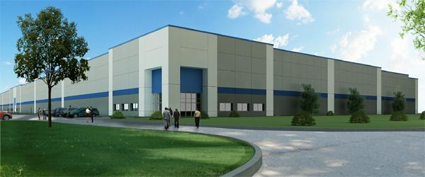 VanTrust Real Estate LLC, a Kansas City-based real estate development company, is building a nearly 274,000-square-foot warehouse building in Hebron without any signed tenants.