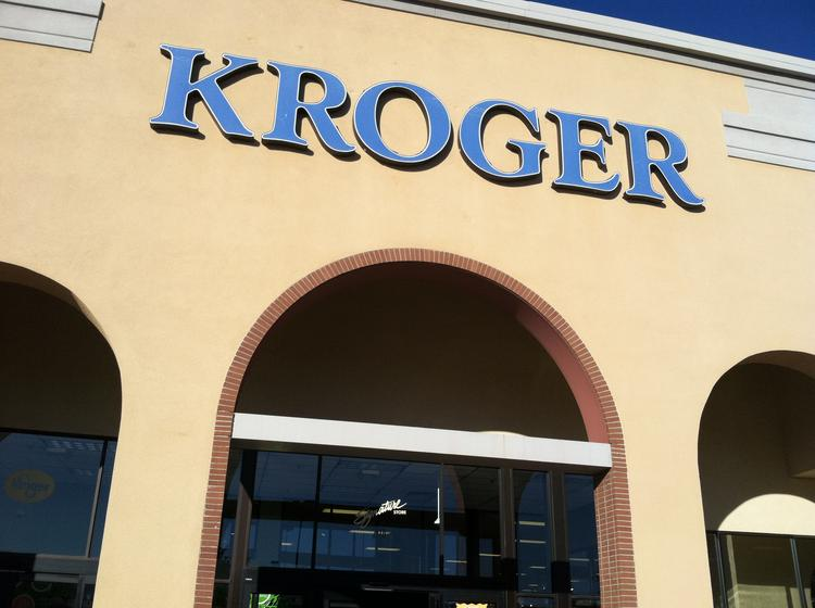 Kroger touted its 2013 hiring today, saying it added 7,000 workers.