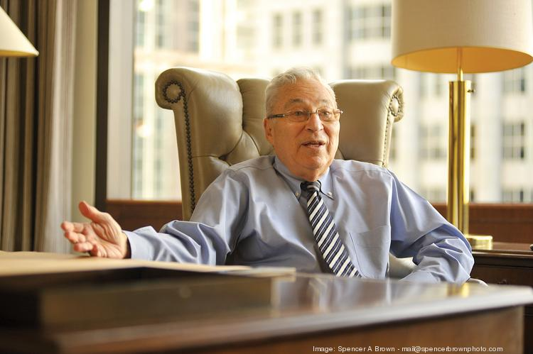 Dick Rosenberg, who led San Francisco-based BankAmerica from 1990 to 1996, says he had a handshake agreement in 1995 with NationsBank CEO Hugh McColl that would have likely taken the combined bank's headquarters to Chicago.