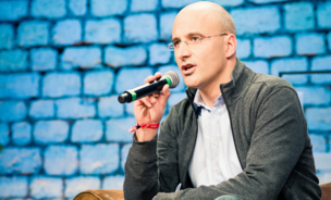 Riccardo Zacconi, CEO and co-founder of King.com, at Le Web 2012.
