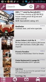 Cheap, close drinks in a blink with happy hour app CLiNK