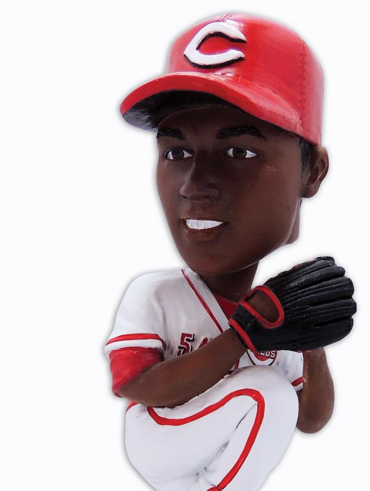 If you answer Rob's question right, he'll give you a bobblehead. But probably not this one.
