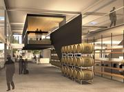 A rendering of the interior of 21st Amendment's new 95,000-square-foot facility in San Leandro.
