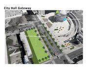 Special Project, Santa Clara Street.  The City Hall Gateway project overlays the existing design with Street Life Plan elements to make it more inviting, comfortable, and memorable: A proper entrance to downtown.