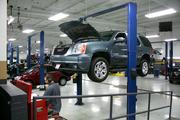 Every aspect of a dealership must conform with the brand's image, including the service areas.