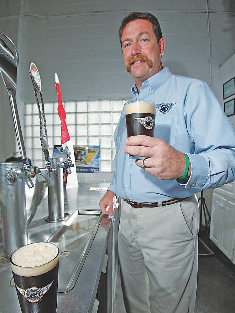 Tim Herzog of Flying Bison Brewing Co. (File photo)