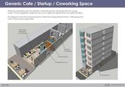 Hypothetical startup office-housing complex  Location: Silicon Valley  Housing units: 12 per office