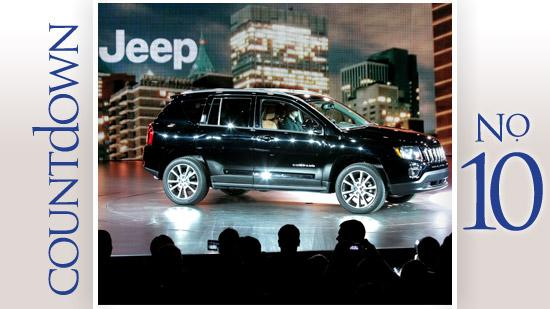 Brand: Jeep 2013 sales: 2,076 Change from 2012: (4.9 percent) 2012 rank: 9 National rank: 9