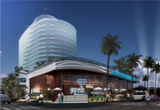 A rendering of the Paramount Fort Lauderdale Beach, an 18-story condo tower set to be completed in 2016.