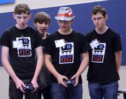 Does that kid have a duct tape hat on? Yes he does. What else would you expect from Team Duct Tape?