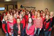 On February 7, the Nashville community came together to support women's heart health on National Wear Red Day. On the first Friday of each February, the American Heart Association encourages everyone to wear red to bring attention to heart disease in women.   The Crichton Group