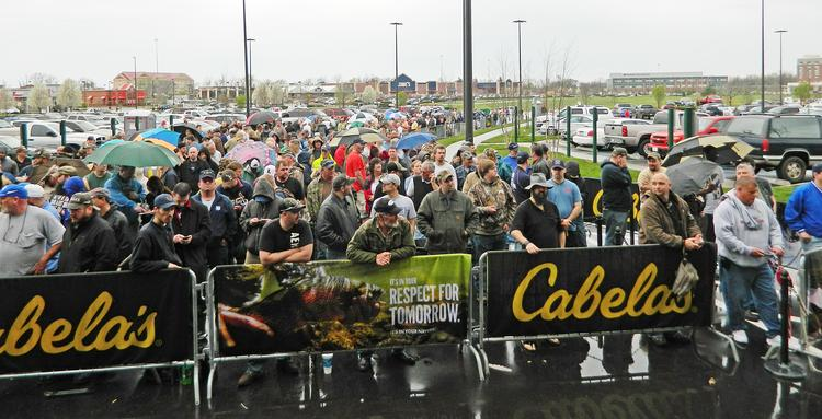 Cabela's Inc. opened its Louisville store Thursday at Old Brownsboro Crossing.