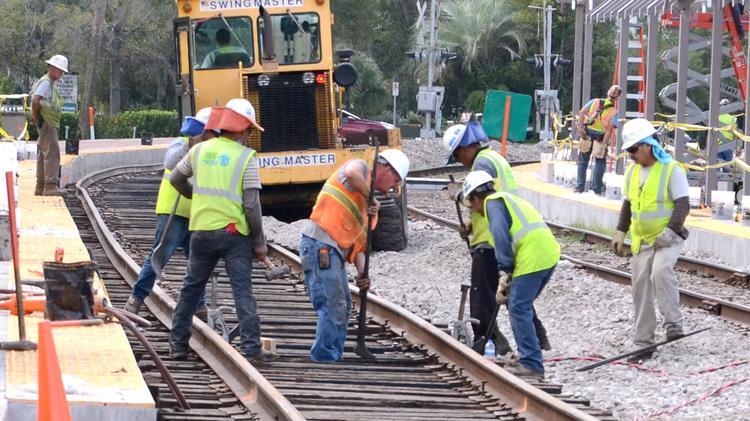 Volusia County officials on March 13 will get an update on their portion of the SunRail commuter rail project from the Florida Department of Transportation.