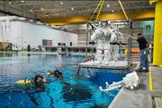 Sonny Carter Training Facility: Known as the Neutral Buoyancy Laboratory, the astronaut training facility houses a 40-foot-deep pool that holds 6.2 million gallons of water to simulate astronaut spacewalks.