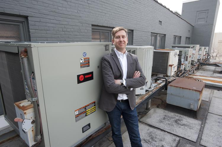 Aaron Frisbee, CFO of Bisig Impact Group Inc., said the addition of an efficient and green HVAC system has resulted in energy-cost savings.