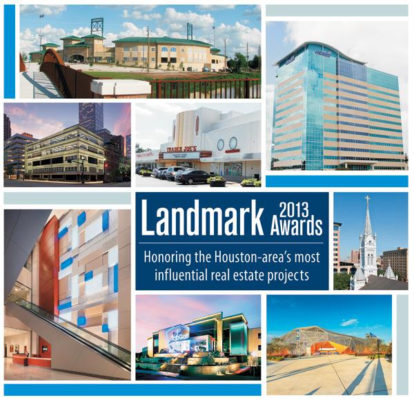 Houston Business Journal's Landmark Awards recognize real estate projects that make a significant impression on the Houston landscape.