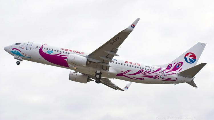 China Eastern chose Boeing's 737, not the the China-built C919, for an order for 80 narrow body jets in June.