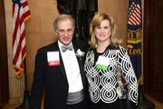 L to R: Honoree Justin P. Klein, Ballard Spahr LLP, Board Chairman and Catherine Cahill, President & CEO, The Mann Center for the Performing Arts