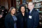 In center: Charisse R. Lillie, VP, Community Investment, Comcast Corp. and President, Comcast Foundation, serving on The Penn Mutual Life Insurance Company Board with family.