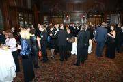 Beautiful cocktail hour reception at The Union League.