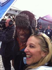 Susanne with Al Roker of the Today Show.
