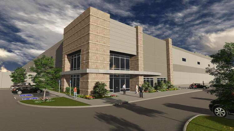 USAA Real Estate Co. and Seefried Properties has begun building a massive four-building, 2.3 million-square-foot master-planned industrial park in DeSoto, Texas.