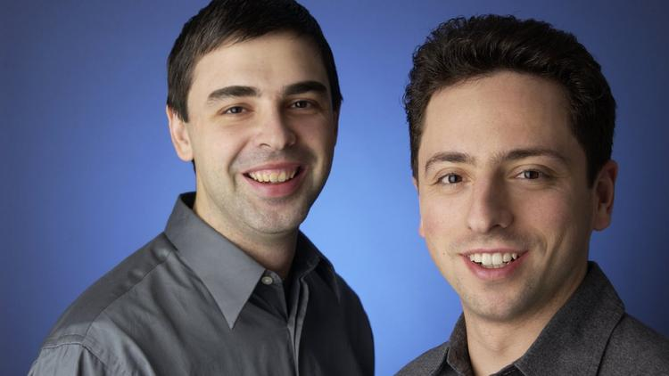 Google's Larry Page and Sergey Brin prefer to buy real estate for their company whenever possible.