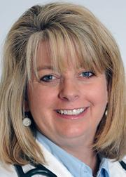 Dr. Julie Hobart Workman of Jewish Hospital - Mercy Health is being recognized for her work in the Provider category.