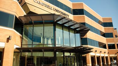 Campbell University Law in downtown Raleigh.