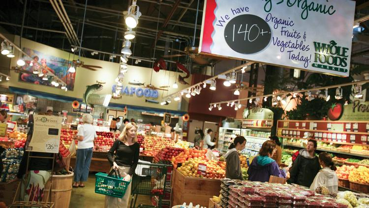 Whole Foods will open its first location in the Albany, New York, market. The company has 380 stores, including this one in Tempe, Arizona.