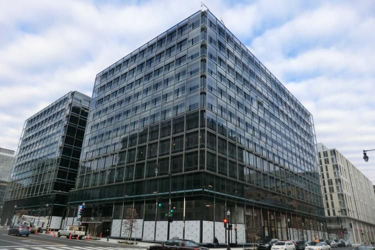 Hines Interests LP has become the first official office tenant at its $700 million CityCenterDC project.