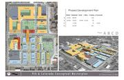 This is a map of the proposed master plan for the soon-to-be redeveloped former CU Health Sciences Center at 9th Avenue and Colorado Boulevard.