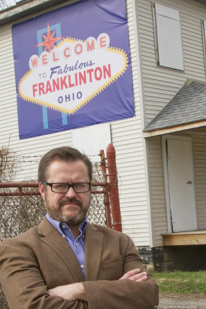 Franklinton Development Association Executive Director Jim Sweeney is leading efforts to revitalize the historic neighborhood.